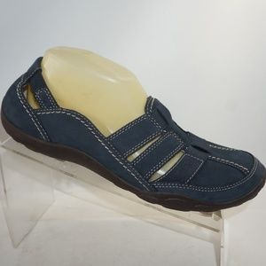 Clarks 13291 Size 10 Blue Flats Shoes For Women